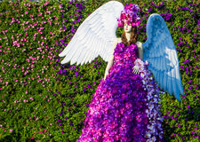 Flower angel Stock Photography