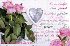 Flower antique bouquet Stock Photos