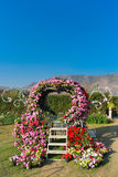 Flower arch. This photo are flower arch in garden Royalty Free Stock Images