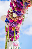 Flower arch Royalty Free Stock Image