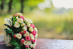 Flower Arrangement. Of roses in a banch Stock Image