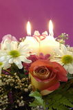 Flower arrangement. Made for a special occasion. Wedding, mother day...etc Stock Photography