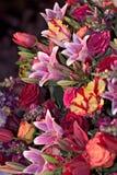 Flower Arrangement. At Philadelphia Flower Show Stock Images