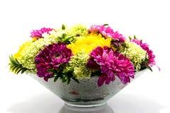 Flower arrangement with Dahlia Stock Images