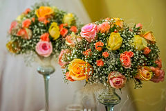 Flower arrangement for a festive event 1 royalty free stock photography