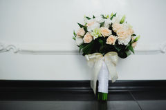 Flower Arrangement on a floor Royalty Free Stock Photo