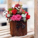 Flower arrangement close-up Royalty Free Stock Photos