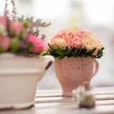 Flower arrangement close-up Stock Image