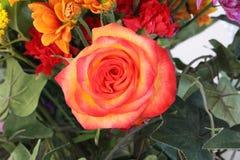 Flower arrangement. A picture of a flower arrangement stock photography