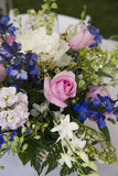 Flower arrangement. With roses and peonies Royalty Free Stock Image