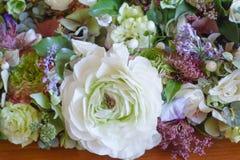 Flower arrangement. On a table Stock Image