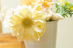 Flower arrangement. On a table Royalty Free Stock Images