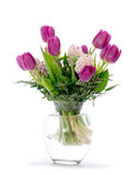 Flower arrangement with tulips Stock Photography
