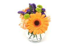 Flower Arrangement In A Vase Royalty Free Stock Images