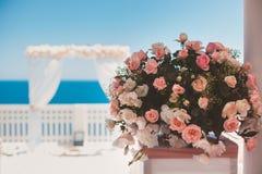 Flower Arrangement in Vase Stock Photos