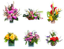Flower arrangements Stock Images