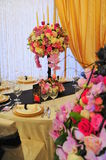 Flower Arrangements For Wedding Receptions Royalty Free Stock Images