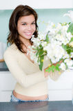 Flower Arranging Royalty Free Stock Photo