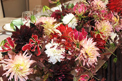 Flower arranging Stock Image
