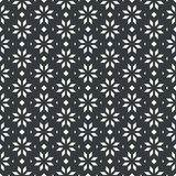Flower and arrow abstract seamless pattern monochrome or two col. Ors vector Stock Images