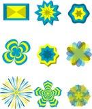 Flower art Stock Images
