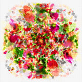 Flower Art Abstract Royalty Free Stock Images