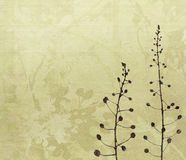 Flower Art Digital Painting Background Stock Image