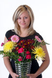Flower Artist Royalty Free Stock Image
