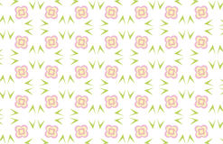 Flower background. Repeated pattern - background - additional ai and eps format available on request Stock Photos