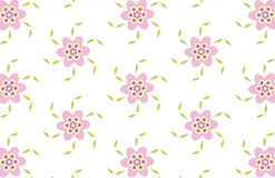 Flower background. Repeated pattern - background - additional ai and eps format available on request Stock Images