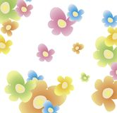 Flower background. Vector illustration of flower background Stock Images