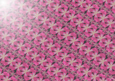 Flower background. Illustration with pink flowers on black  background Royalty Free Stock Images