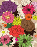 Flower background Royalty Free Stock Photos
