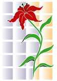 Flower background. Pretty flower - good background and postcard royalty free illustration