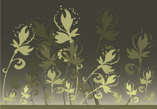 Flower Background. Work with vectors illustration nature Royalty Free Stock Image