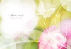 Flower background. Floral background for card or weeding invitation background Stock Images