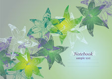 Flower background stock illustration