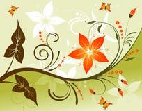 Flower background stock illustration