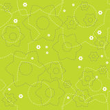 Flower background. Seamless background with floral pattern Stock Image
