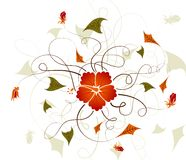 Flower background Royalty Free Stock Photography
