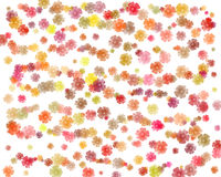 Flower background. Flower patterned background Royalty Free Stock Photos