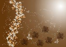 Flower background. Beautiful flower background-vector illustration vector illustration