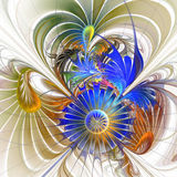 Flower background. Computer generated graphics Stock Image