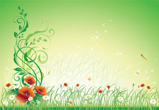 Flower background with delicate colors Royalty Free Stock Photos