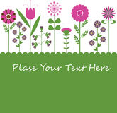 Flower background design.. Flower background design for you Royalty Free Stock Photo