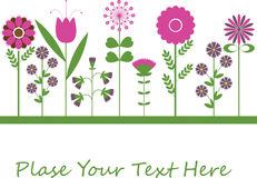Flower background design. Flower background design for you Royalty Free Stock Image