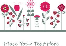 Flower background design. Flower background design for you Stock Photo