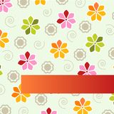 Flower background design Royalty Free Stock Photos