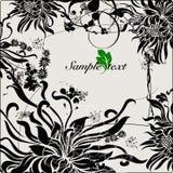 Flower background design. Vector Illustration of flower background Stock Photos
