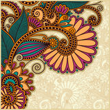 Flower background design Stock Photos